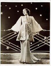 Carol Hughes Actress Modelling Gary Kelly Dress Vintage 1930's Photograph 10 x 8