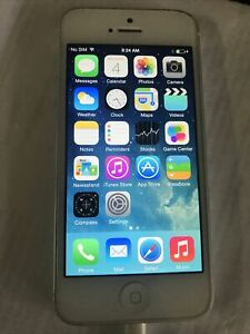 Apple iPhone 5 16GB  Unlocked AT&T T-Mobile Black  Model MD645LL/A Silver A1428