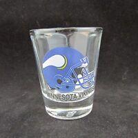 "NFL Minnesota Vikings 2 1/2"" Clear Shot Glass"