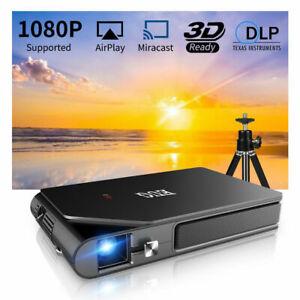 EUG 3600LMS Mini DLP 3D Projector Full HD Wireless Home Cinema Portable Movie UK