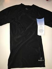 Intensity Athletic Tight Fit Performance Short Sleeve Shirt Black, Small NWT