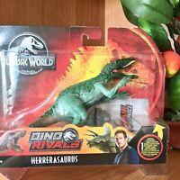 Jurassic World Dino Rivals Herrerasaurus Figure Toy Dinosaur Mattel NEU