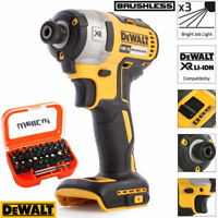 Dewalt DCF887N 18V XR Brushless Impact Driver With 31pcs Screwdriver Bit Set