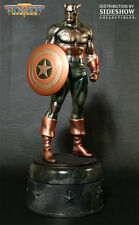SIGNED By STAN Lee CAPTAIN AMERICA STATUE FAUX BRONZE SIDESHOW Bowen Designs
