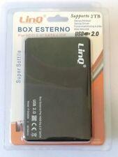 """BOX SATA ESTERNO 2.5"""" SLIM CASE ESTERNO USB HARD DISK HD PORTATILE"""