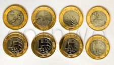 Brazil 1 Real Olympic games 2016 bimetall 4 coins set #2 UNC (#1452)