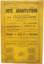 1882 - Ms. Albertine - FEMALE AERONAUT ASCENT - Hot Air Balloon