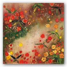 FLORAL ART PRINT Gardens in the Mist XI Aleah Koury