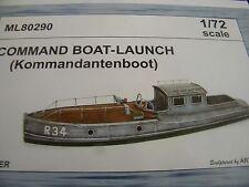 CMK Maritime ML80290 1/72 Resin Kit for German Commander's Boat-Launch