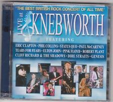 Paul McCartney Pink Floyd Genesis Eric Clapton Status Quo Live Knebworth 2CD New