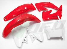 Ufo 5 Piezas Motocross Kit plástico Honda Cr 125 250 05 - 07 Std Colores hokit103e