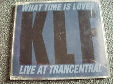 KLF-What Time is Love? 3 inch Maxi CD-Made in Germany