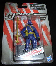 GI JOE COBRA COMMANDER Cobra Leader (Blue clothes) DOLLAR GENERAL EXCLUSIVE MOC