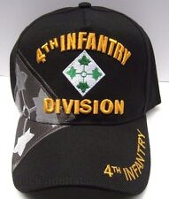 4TH INFANTRY DIVISION Cap/Hat W/ Shadow Military *FREE SHIPPING*