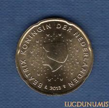 Pays Bas 2013 20 centimes d'Euro SUP SPL Pièce neuve de rouleau - Netherlands