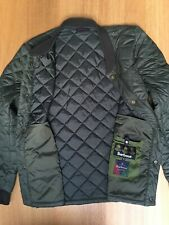Barbour Mens M 44in Nautical Levenish Quilt Jacket Very Good Clean Condition