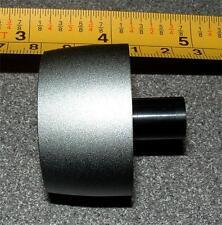 Manopola in argento lunga portata 40mm Diam per Asta da 1/4 POLLICI x 1 e863pm ARCAM
