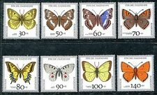 Germany B705-B712, MNH, Insects Butterflies 1991  x26190