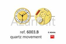 Movimento al quarzo Ronda 6003B movement quartz for watch orologi Swiss