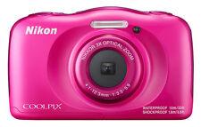 Nikon Coolpix W100 Waterproof Camera - Pink