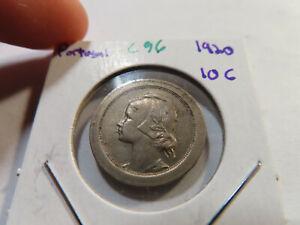 C96 Portugal 1920 10 Centavos