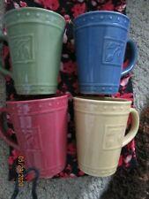 SORRENTO Stoneware Cup Signature Housewares Debby Segura 2001 ✔✔Choose Color