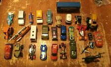 Lot of 30 Loose 1/64 Diecast & Toy Cars Trucks Planes Hot Wheels Disney