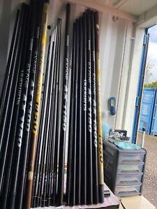 CARP MATCH FISHING TACKLE - SHIMANO EXAGE AX 14.5 METRE POLE + TOP KITS & SPARES
