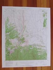 Prescott Arizona 1959 Original Vintage USGS Topo Map
