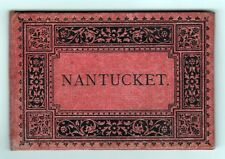 Rare 1885 Nantucket Island Massachusetts View Book Adolph Wittemann Sankaty Ack