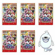 Yo-kai Watch Dream Medal: 5 Packs: 5 x Yokai Heaven Hell Roulette Youkai Jp Ver