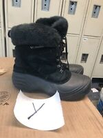 Columbia Sierra Summette Thermolite Winter Boots Womens Size 9 Black