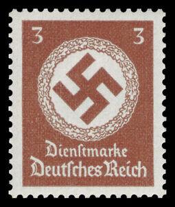 Germany Deutsches Reich 1942/44 Mi. Nr. 166 3 Rpf. Govt. Officials Dienst MNH