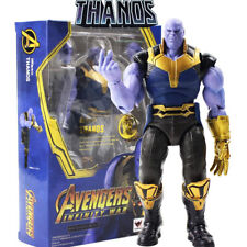 THANOS AVENGERS INFINITY WAR - Action Figure IRON MAN THOR SPIDERMAN Marvel 17cm