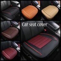 3D Car Seat Cover Breathable PU Leather Mat Pad for Universal Auto Chair Cushion