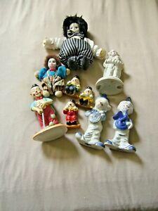 Sammlung  Clown, Puppe, Dekoration, Sammler, Geschenk, Figur, Harlekin