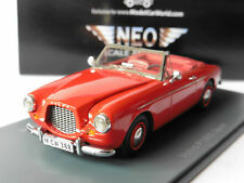 VOLVO P1900 CONVERTIBLE SPORT RED 1956 NEO 44388 1/43 CABRIOLET ROSSO ROUGE ROT