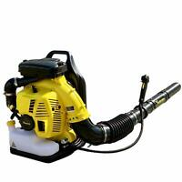 Backpack Blower Leaf Blower 80CC 2-Cycle Gas 850 CFM EPA Certified Free Shipping