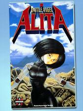 BATTLE ANGEL ALITA rar VHS Anime MANGA Deutsch Yukito Kishiro Hiroshi Fukutome