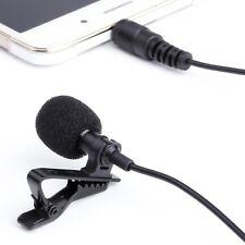 Peyou iPhone iPad Pro Galaxy Note LG Mini Hands Free Lavalier Clip Microphone