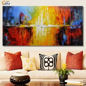 LMOP59 huge 100% Hand-painted astract Oil Painting home decor art on Canvas