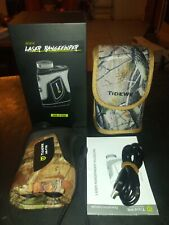 Tidewe Hunting Rangefinder w/ Rechargeable Battery & Case Hr-F700 Camo Laser