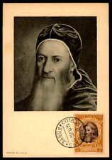 Vatican MK 1950 Concilio Trento Concile maximum carta carte MAXIMUM CARD MC cm dd13