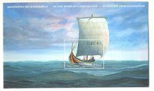 Irlanda-Viking Longship estampillada sin montar o nunca montada -1864 - BARCOS VIKING