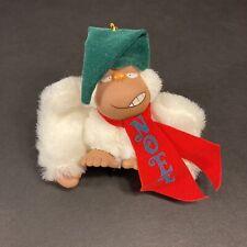 Vintage Applause 1979 Rodney Jr. Gorilla Ape Plush Monkey Christmas Ornament