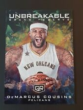 2016-17 Panini Grand Reserve Unbreakable #3 DeMarcus Cousins