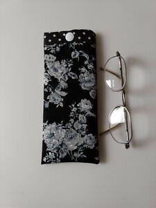 Glasses Case / Pouch Handmade In  Designer Fabric Lovely Gift New