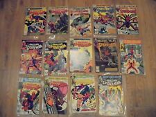 Lot of 14 Marvel Comics Group The Amazing Spider-Man Comic Books 1978-1981