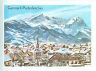 IMAGE CARD 60s Germany Garmisch-Partenkirchen Bavaria 1936 Winter Olympic games
