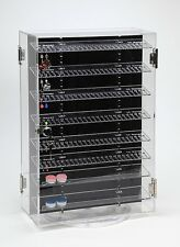 Body Jewelry Display Case Retail Cabinet Lock 500+ pieces 360 Rotating Acrylic